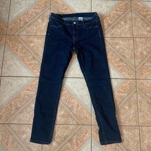 Dark Blue H&M Skinny Jeans
